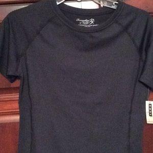 Soma, tranquility, black T-shirt, short sleeve, S